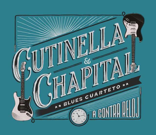 """Cutinella & Chapital Blues Cuarteto presenta su disco """"A Contra Reloj"""""""