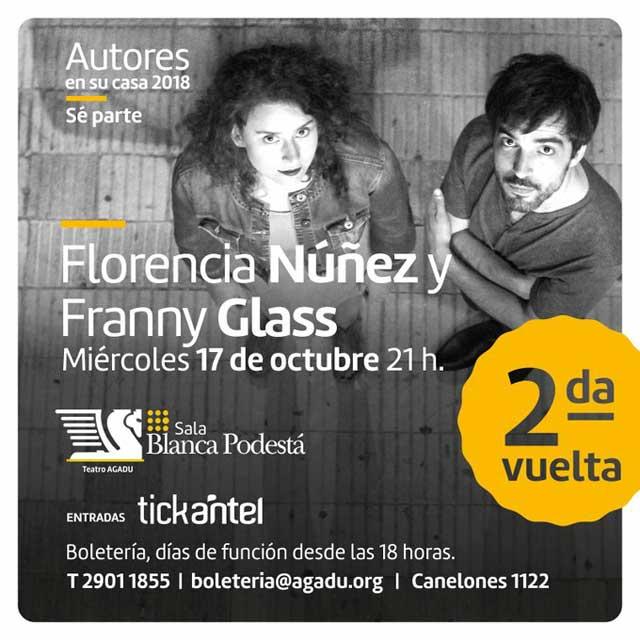 Florencia Núñez y Franny Glass
