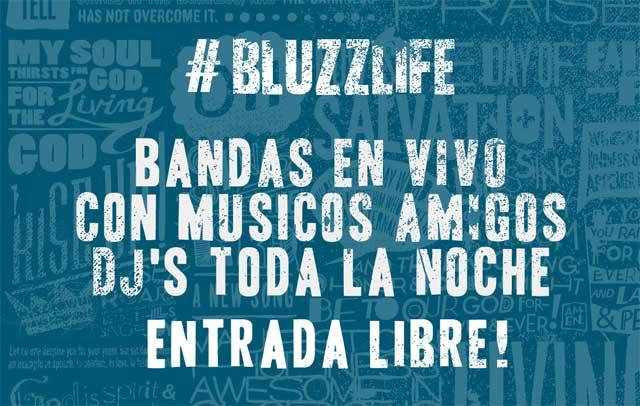 Fiesta aniversario en Bluzz Live