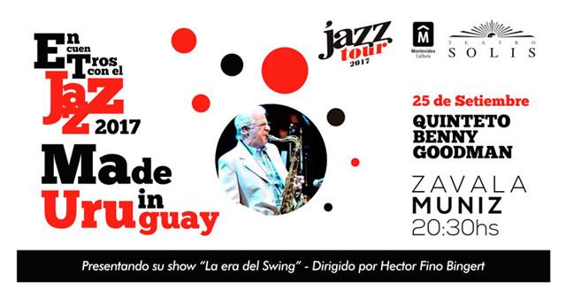 Jazz Tour 2017 - Quinteto Benny Goodman