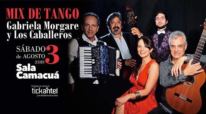 Mix de tango - Gabriela Morgare y Los Caballeros