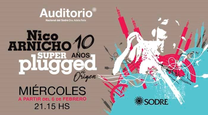 Nico Arnicho Superplugged 10 años
