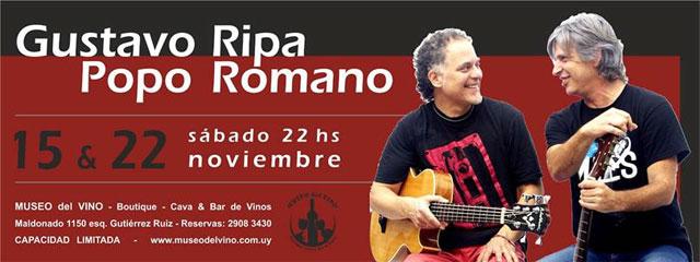 Gustavo Ripa  &  Popo Romano
