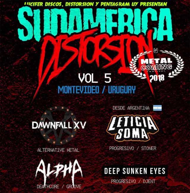 Sudamérica Distorsión 5
