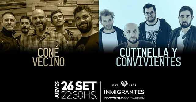 Coné Vecino + Cutinella Y Convivientes
