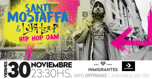 Santi Mostaffa & Lupaloop Hip Hop Jam