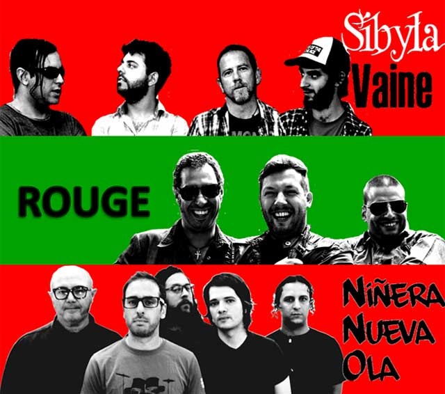 Niñera Nueva Ola + Sybila + Rouge