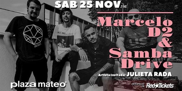 Marcelo D2 & Sambadrive