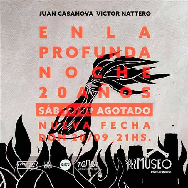 Juan Casanova y Víctor Nattero