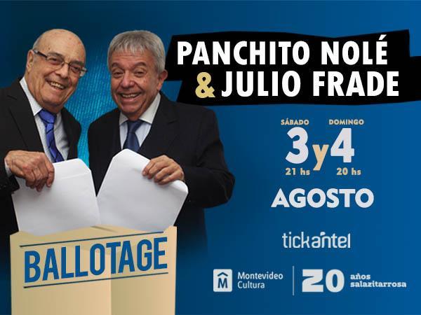 Panchito Nolé y Julio Frade