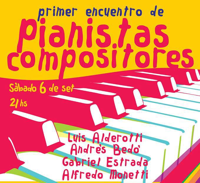 Primer Encuentro de Pianistas Compositores